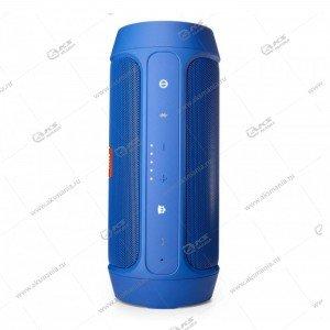 Колонка портативная Charge 2++ BT TF синий