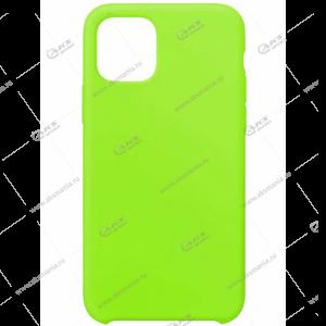Silicone Case для iPhone 11 Pro Max салатовый