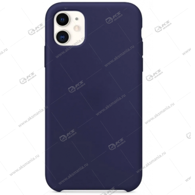 Silicone Case (Soft Touch) для iPhone 11 Pro аспидно-синий