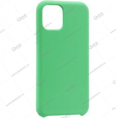 Silicone Case (Soft Touch) для iPhone 11 Pro Max мятно-зеленый