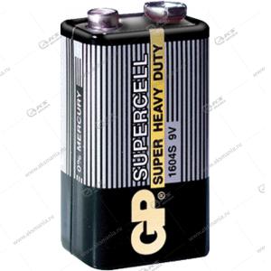 Элемент питания GP 6F22/1SH (крона) Supercell
